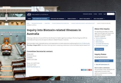 Australian federal government enquiry into Biotoxin illness
